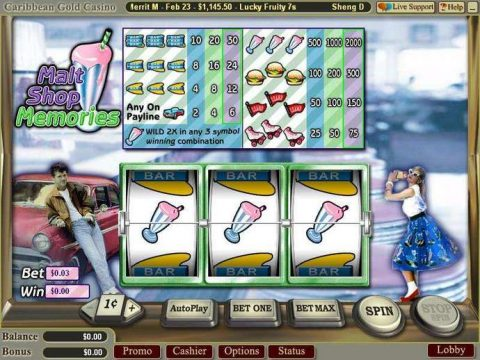 Malt Shop Memories Slot