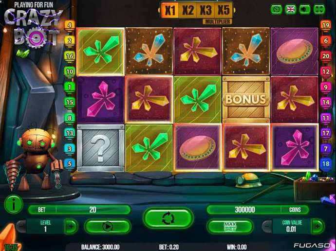 Crazy Bot Online Slot Game :: Svenska Casinos
