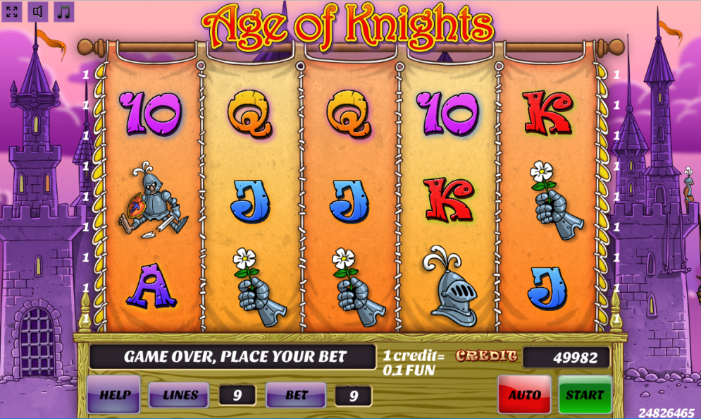 Age of Knights slot game