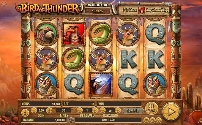 Bird Of Thunder slot game