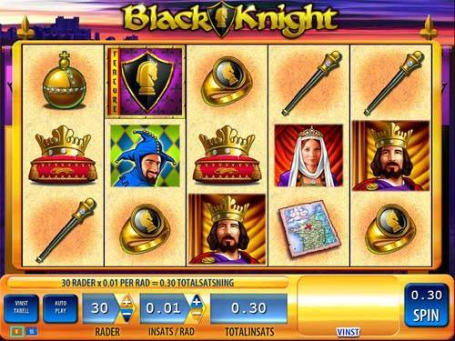 Black Knight slot game