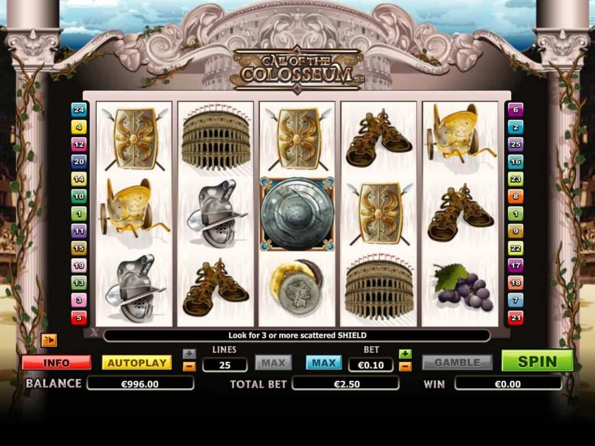 Call Of The Colosseum slot game
