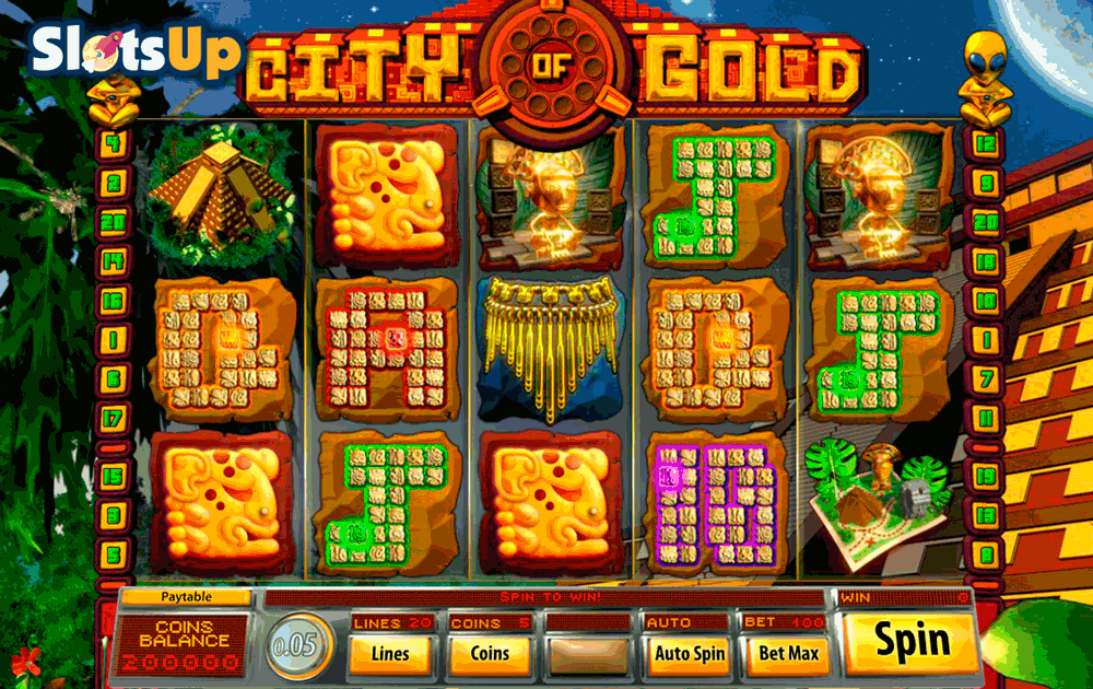 City of Gold slot game