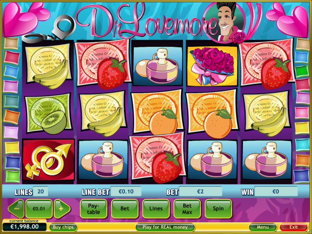 Dr Lovemore slot game