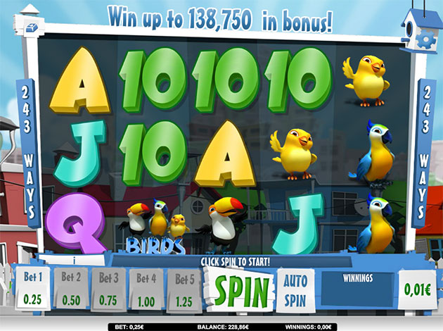 Happy Birds slot game