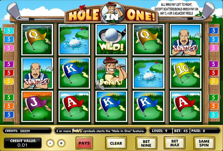 Hole in One slot game