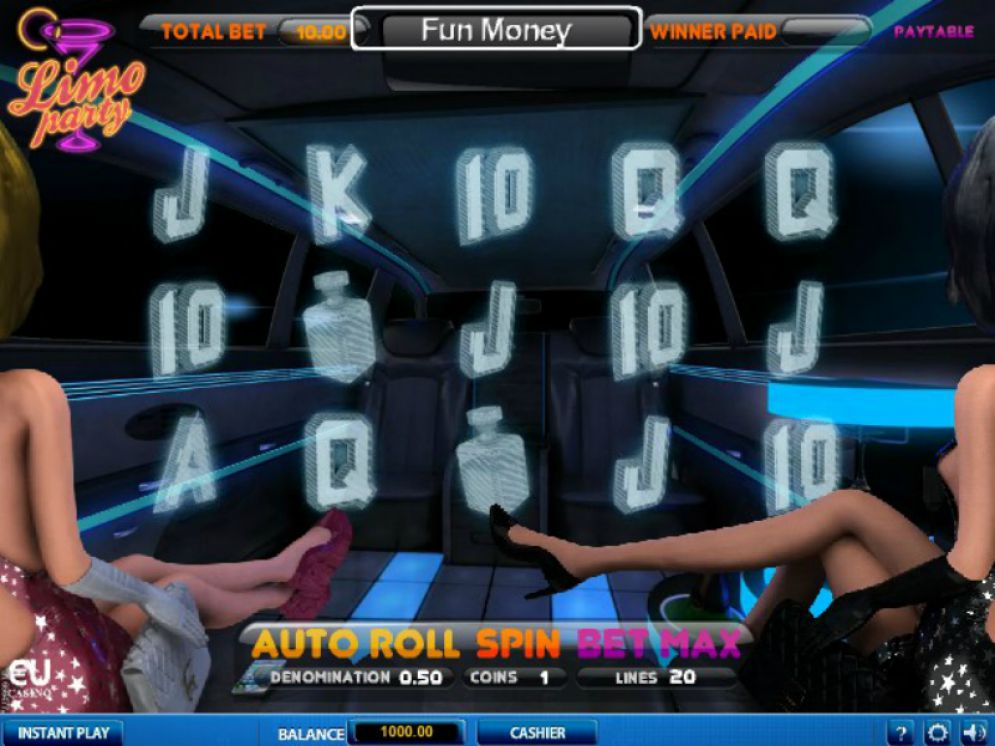 Limo Party slot game