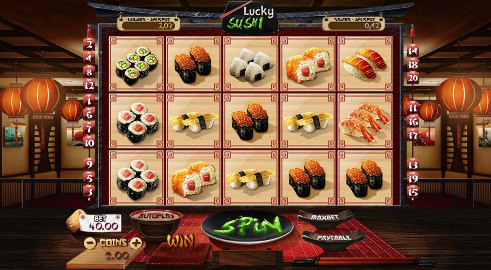Lucky Sushi slot game