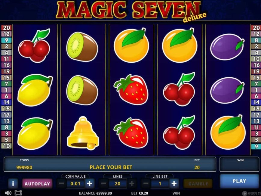 Magic Seven Deluxe slot game