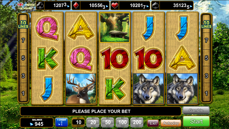 Majestic Forest slot game