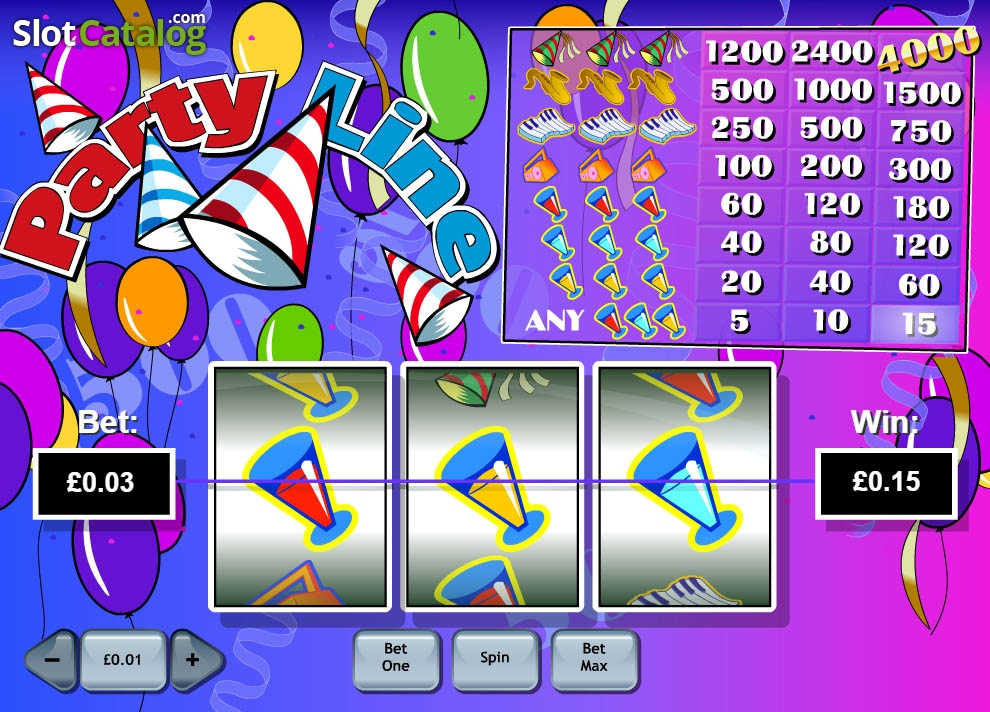Party Line slot game