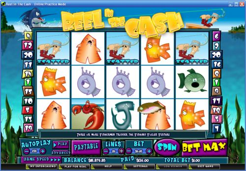 Reel in the Cash slot game