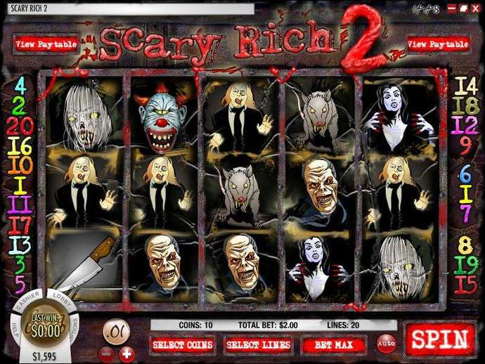 Scary Rich 2 slot game