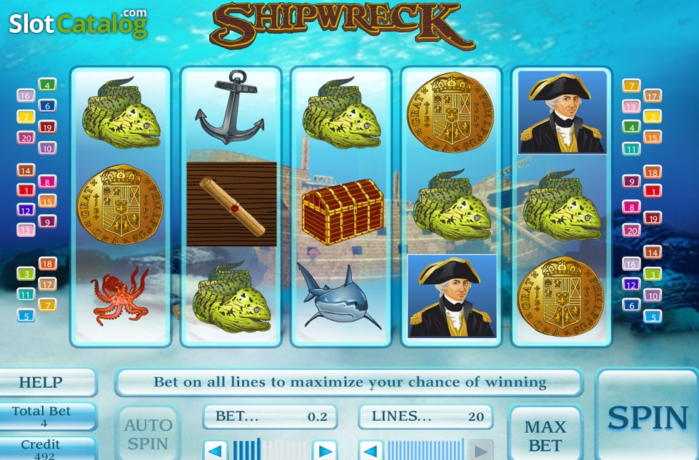 Shipwreck slot game