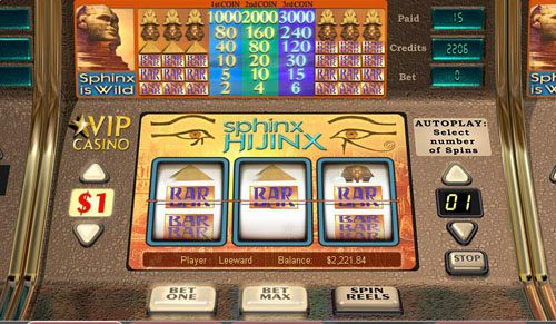Spinix Hijinx slot game