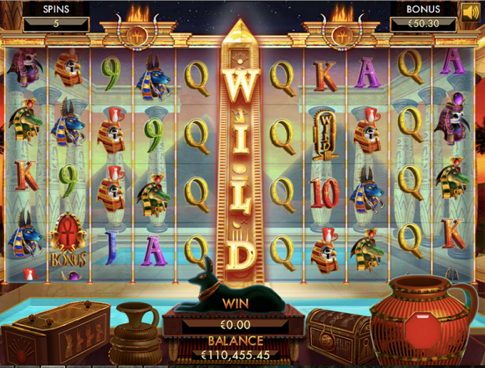 Temple of Luxor slot game