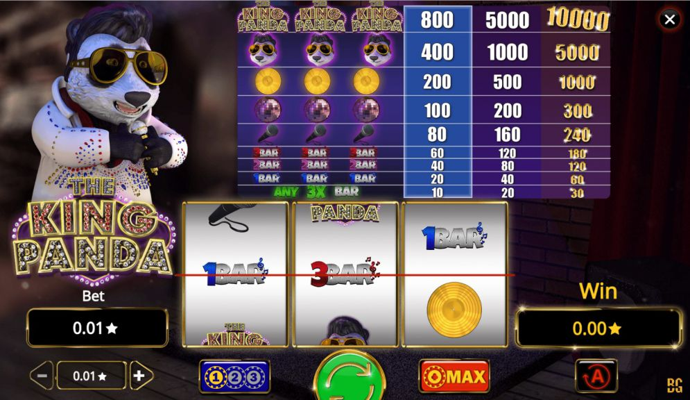 The King Panda slot game