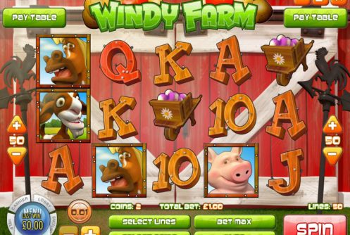 Windy Farm slot game