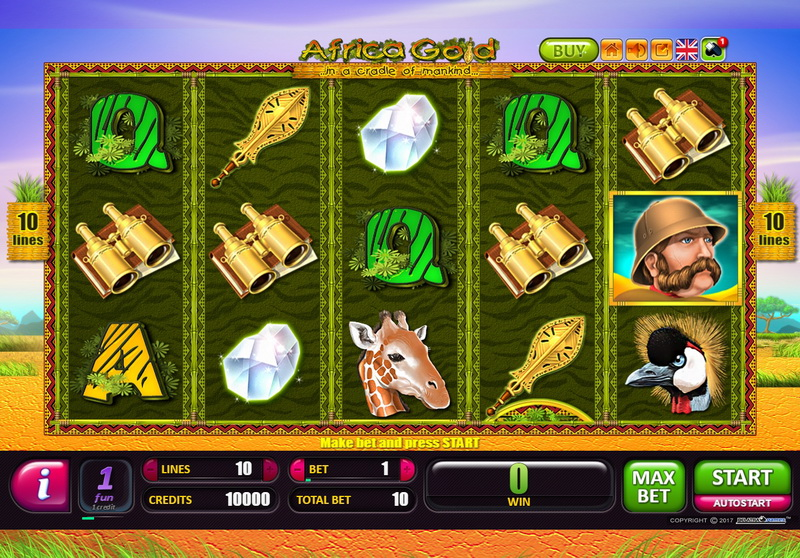 Africa Gold slot game