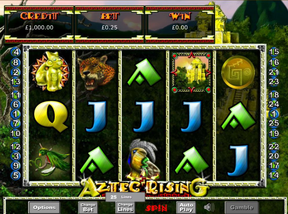 Aztec Rising slot game