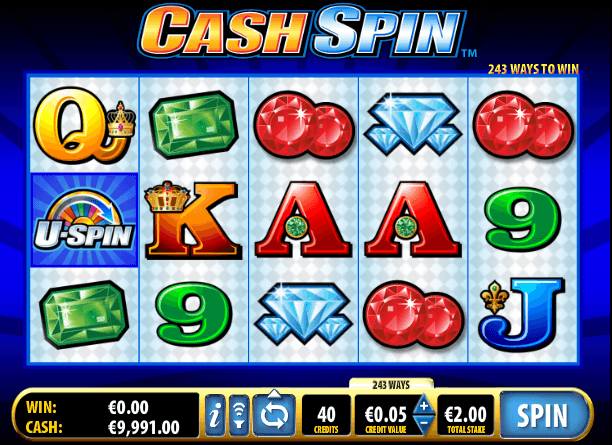 Cash Spin slot game