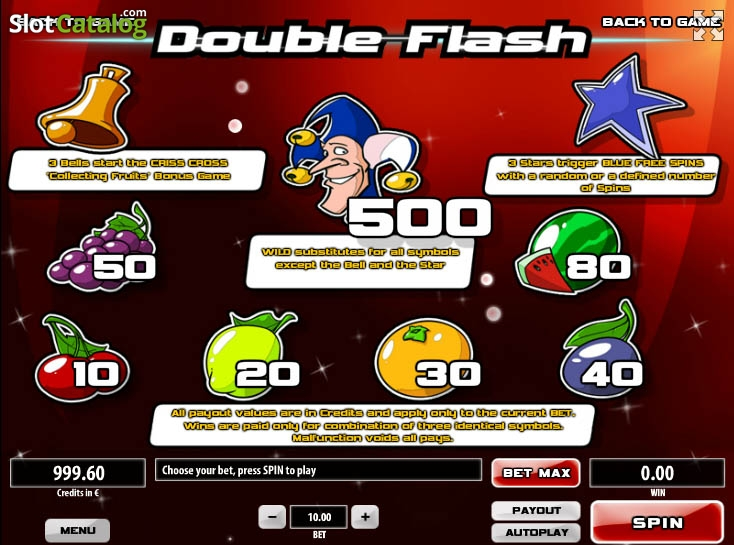Double Flash slot game
