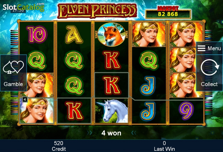 Elven Princess slot game