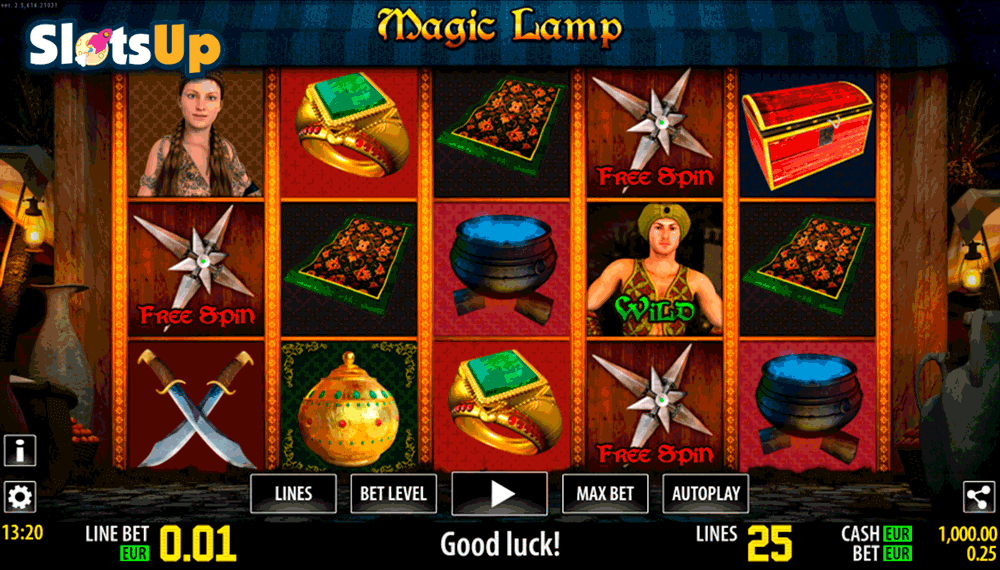 Magic Lamp slot game