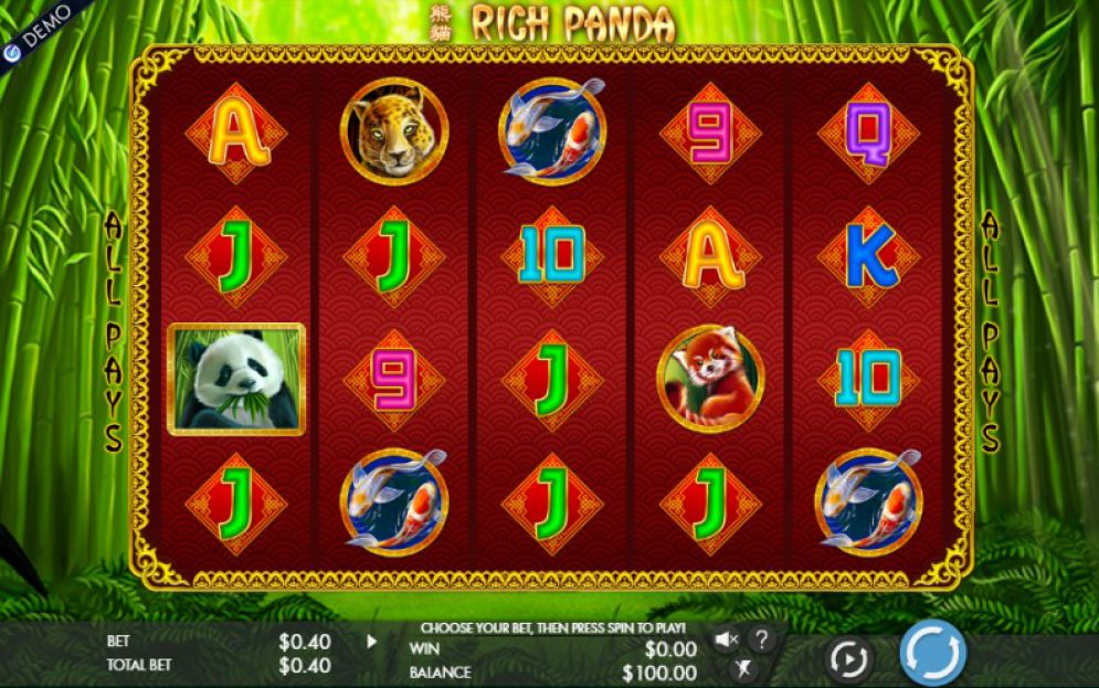 Rich Panda slot game