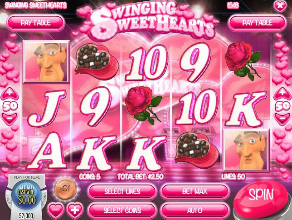 Swinging Sweethearts slot game