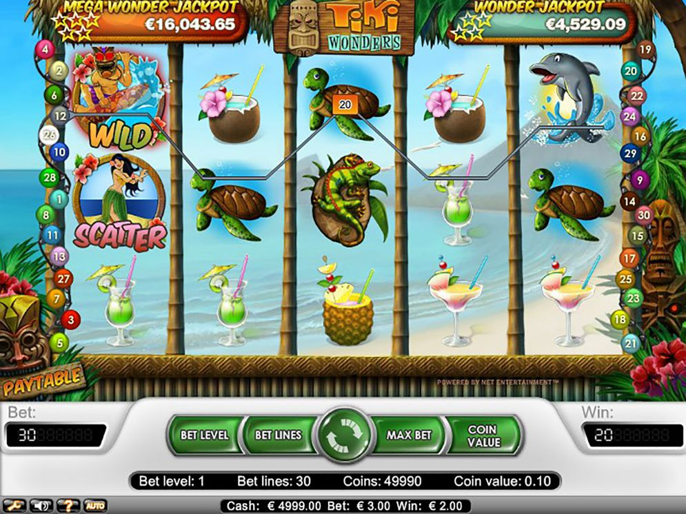 Tiki Wonders slot game